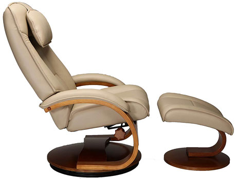 An Image Sample Of Oslo Collection Mac Motion Recliner Left Side View