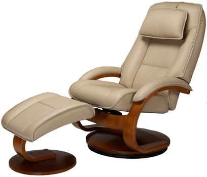 An Image Sample Of Oslo Collection Mac Motion Recliner Right Side View