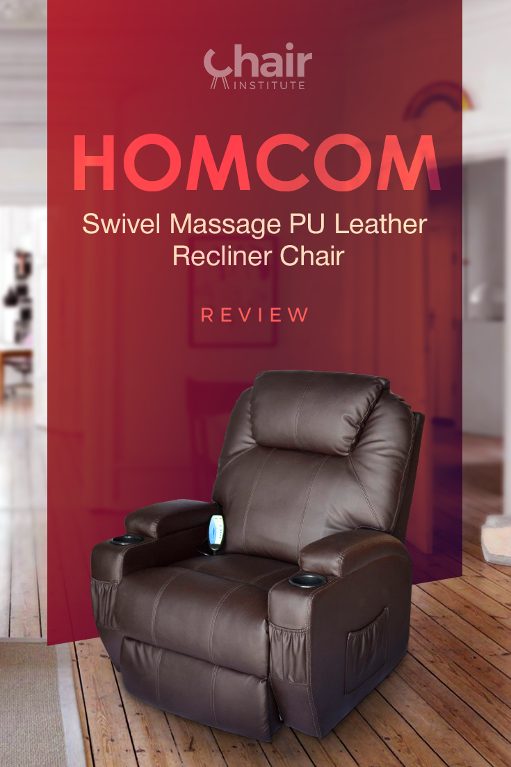 HOMCOM Swivel Massage PU Leather Recliner Chair Review