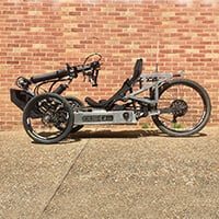 An Image of Best Wheelchairs for Outdoors: Outrider Horizon (Electric Handcycle)