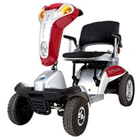 An Image of Best Wheelchairs for Outdoors: Titan Hummer XL