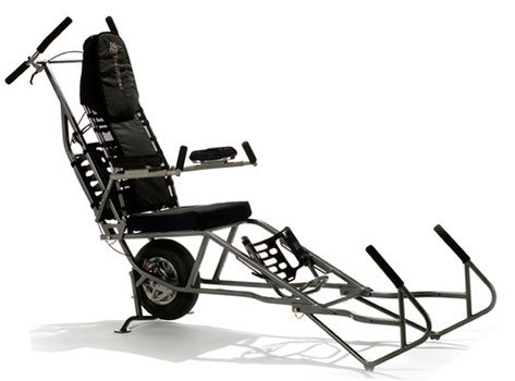 A Left View Image of Black Diamond TrailRider Wheelchair