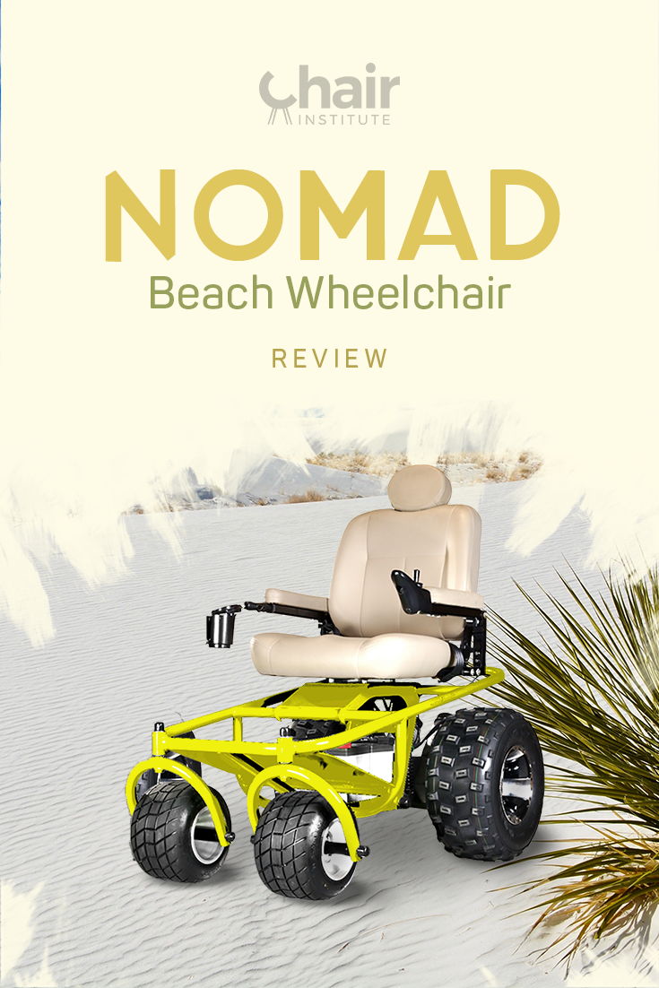 Check out our in-depth review of Beach Mobility's impressive Nomad all-terrain powered beach wheelchair.  Not to be missed!
