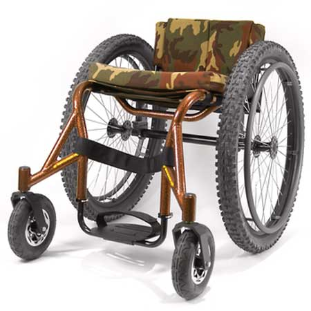 An Image of Top End Crossfire All Terrain Wheelchair