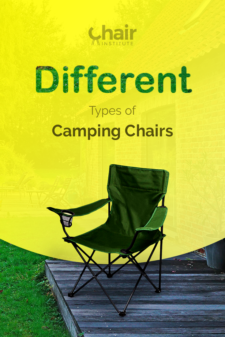 Learn about the different types of camping chairs in the market today and their distinct features and uses.