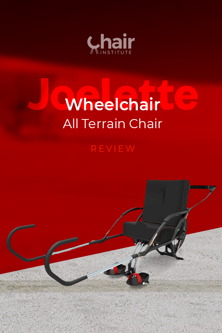 Check out our in-depth review of the Joelette one-wheeled wheelchair.  While not for everyone, it may be just what you're looking for! @joelette_sport