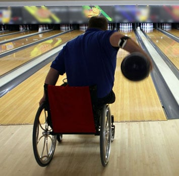 Outdoor Activities for Wheelchair Users: Bowling