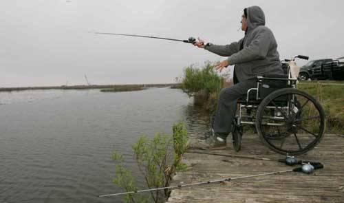 Outdoor Activities for Wheelchair Users: Fishing