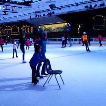Outdoor Activities for Wheelchair Users: Ice Skating