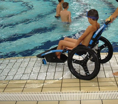Outdoor Activities for Wheelchair Users: Swimming