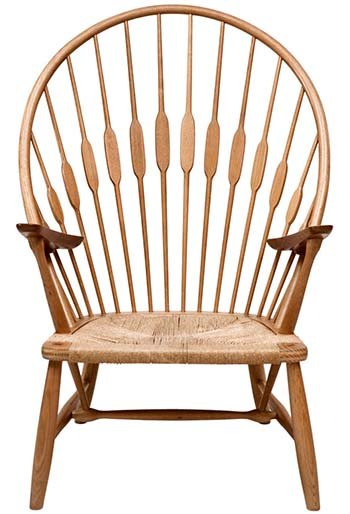 Wegner PP550 Peacock Chair made out of Solid Wood & Natural Papercord