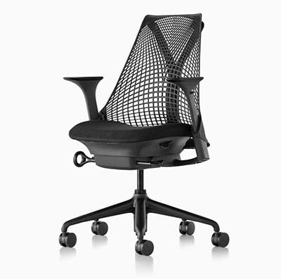 Yves Behar Sayl Chair in black