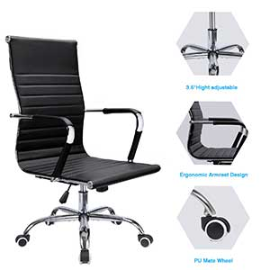 Peachy Best Ergonomic Office Chair Under 150 100 Review 2019 Lamtechconsult Wood Chair Design Ideas Lamtechconsultcom