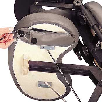 An image of the Session Pouch or Sundries Pouch of the Master Massage Apollo Portable Massage Chair