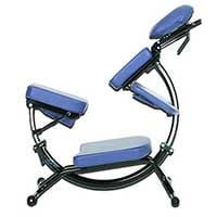 A small image of the Pisces Pro Dolphin II in blue upholstery, our top pick for the best overall professional massage chair