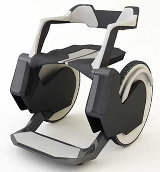 CARRIER Wheelchair, a futuristic wheelchair