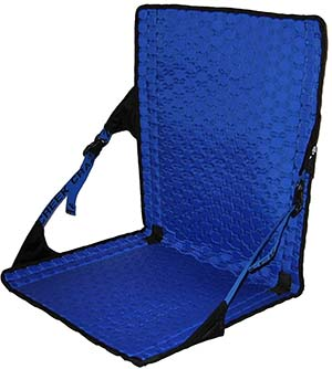 Royal Blue - Black Variant of the Crazy Creek Products HEX 2.0 Chair