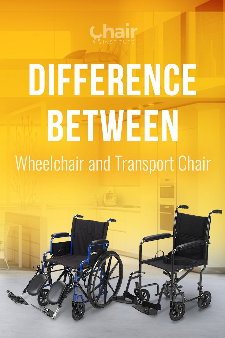 Don't miss this short piece that highlights the difference between a wheelchair and transport chair if you're in the market for either!