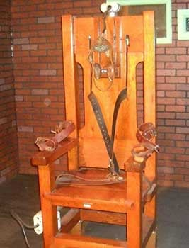 An Image of Thomas Edison Electric Chair