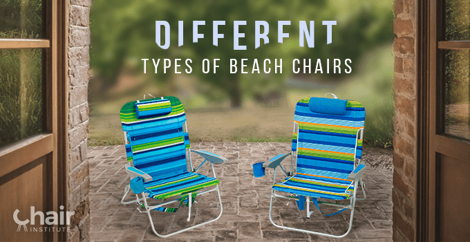 Two beach chairs in a front yard