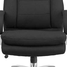 Comfortable seat of the Flash Furniture HERCULES 24/7 Office Chair