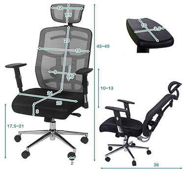 Awesome Topsky High Back Executive Office Chairs Review Ratings 2019 Bralicious Painted Fabric Chair Ideas Braliciousco