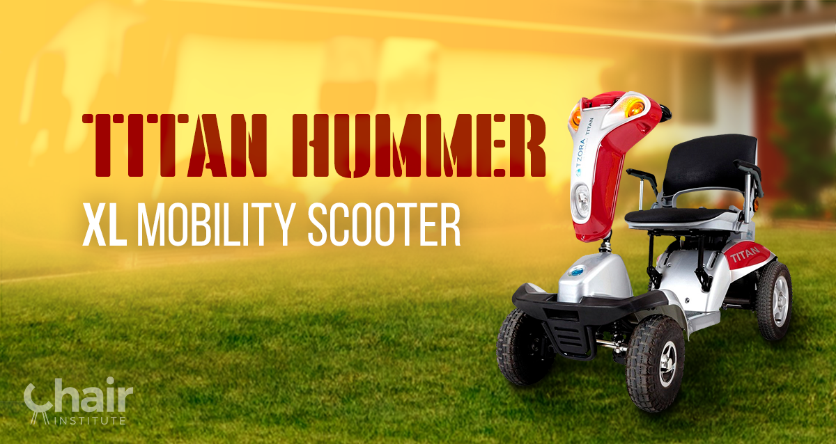 Titan Hummer XL Mobility Scooter Reviews & Ratings 2019