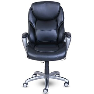 Front View of Serta My Fit Executive Office Chair