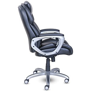Side View of Serta My Fit Executive Office Chair