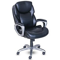 Best Office Chair for Short Person Leather/ Fabric Upholstery Category: Serta MyFit