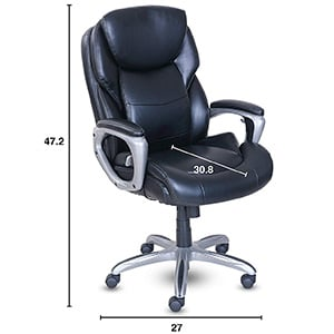 Specification of Serta My Fit Executive Office Chair