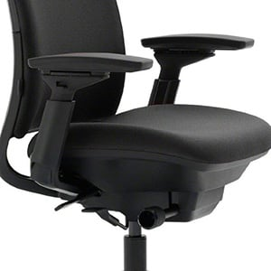Adjustable Armrest Image of Steelcase Leap Office Chair