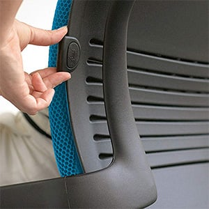 Adjustable Lumber Image of  Steelcase Leap Office Chair