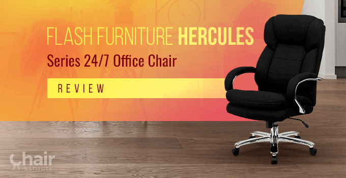 The Flash Furniture HERCULES Series 24/7 in a room