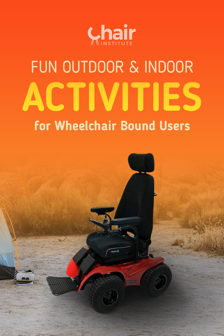 Check out our in-depth article detailing fun outdoor activities for wheelchair users.  Life as you know it most certainly isn't over!
