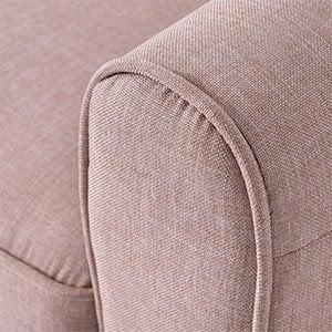 Armrest of Giantex Modern Accent Armchair