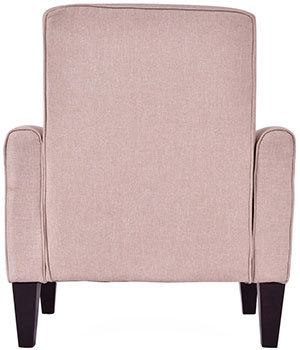 Back View of Giantex Modern Accent Armchair
