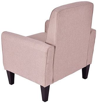 Backside View of Giantex Modern Accent Armchair