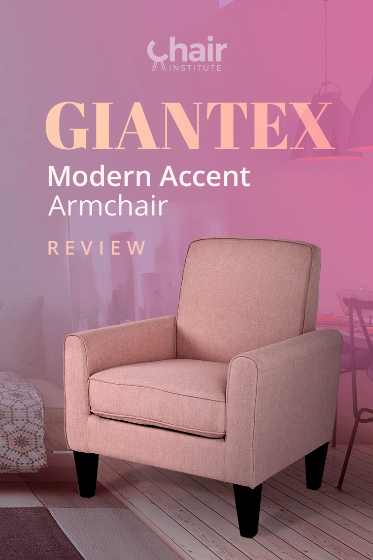 Our Giantex Modern Accent Armchair Review dives deep into this contemporary living room chair to find out if it would make a good addition to your home. Find out if it passed our tests! @Costway_com