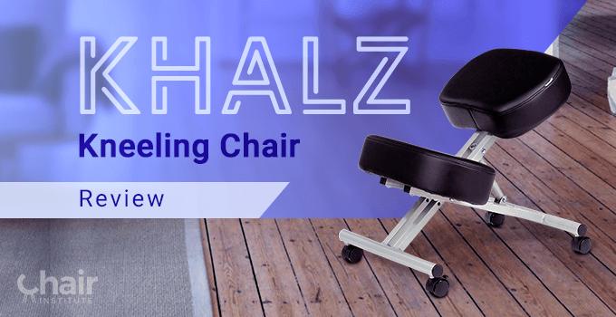 The Khalz Kneeling Chair on wood floor