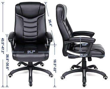 SONGMICS Executive Chair - Specifications
