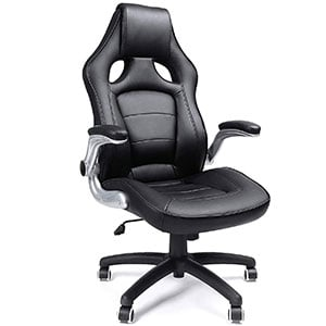 A UOBG62B Model of SONGMICS Thick Executive Office Chair