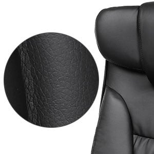SONGMICS Thick Executive Office Chair: Exceptional PU Fabric