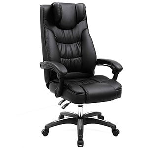 A UOBG76B Model of SONGMICS Thick Executive Office Chair