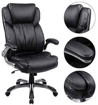 Feature details of SONGMICS Executive Chair - UOBG94BK