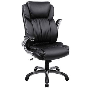 A UOBG94BK Model of SONGMICS Thick Executive Office Chair