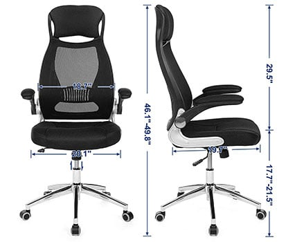 SONGMICS Executive Chair: UOBN86B - Specifications