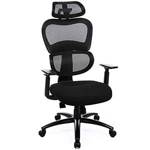UOBN89BK Model of SONGMICS Thick Executive Office Chair