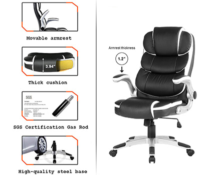 A Features Overview of Yamasoro High Back Executive Office Chair