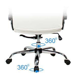 A Nylon Castors & Five-Star Base of New High Back Executive Office Chair of Yamasoro Office Chair